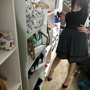 Emmelee for F.C. Dresses - Emmelee for FC Black Grey Scoop Tank Dress Small